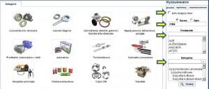 Platforma elektroniczna – panel wyszukiwania ręcznego